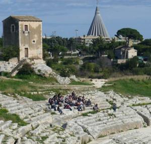 teatro greco quadrato
