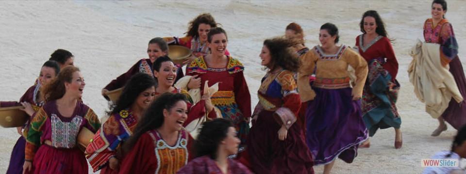 Antikens skådespel på Siracusas Grekiska Teater